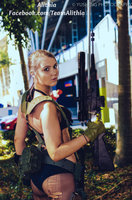 Alithia as Quiet from MGSV by AlithiaGaming