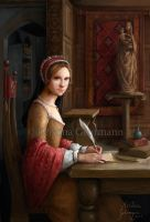 Tudor Queens 7 - The Lady Mary by KristinaGehrmann