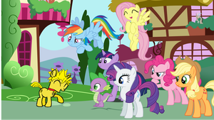 MLP: FiM S5 Ep 1 'Lucky To Meet You Here' by Hotspot0626