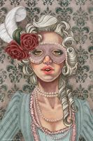 Roses and Pearls by imAvo