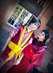 Princess Ursa and Zuko 1 by Honeyeater