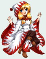 Moe Collection: White Mage by Zhenoa