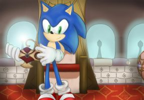 Sonic And The Secret Rings by ScaraMini13
