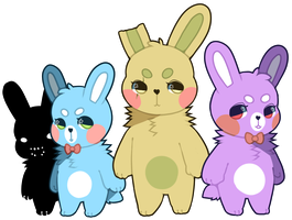 bunny family 2 by palestdeer