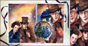 Doctor Who Christmas Special, World Travel Book by Farbenfrei