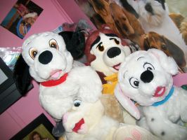Lucky and Penny Dalmatian plushies by BeautifulHusky