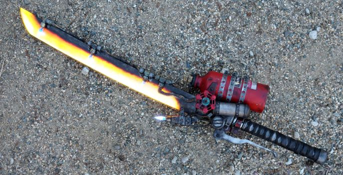 Shishkebab Fallout 4 Prop (Light Saber/AC Version) by ammnra