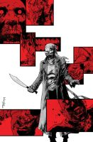 28 Days Later Issue 9 Cover by DeclanShalvey
