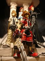 Kingdom Hearts Play Arts by Lykoleon