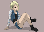Android 18 by shadowGEAR