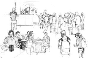 Cafe Sketches Compiled 2 by A-Quiet-Wind