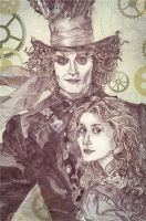 My Mad Hatter2 by Mirianes