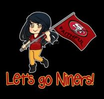 Lets go 49ers! by CuddlyCapes