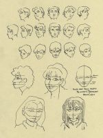 Face and head study 081510 by Changeling-seeker