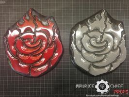 RWBY Ruby Rose Emblems Finished by Mauricechief