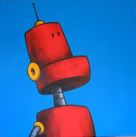 Red Robot by rico-xx