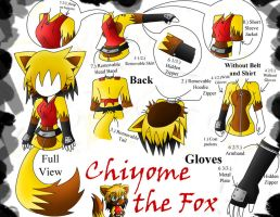Commission Jacket: Chiyome the Fox by chi171812