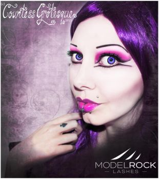 modelrock lashes by Countess-Grotesque