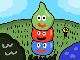 Slime Stack by DragonQuestWes
