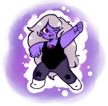 Amethyst by plasticbeech