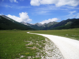 Road To The Mountains by fanzmarco