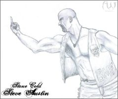 Stone Cold Steve Austin. by MarvelousMark