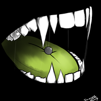- Echos mouth - by SapphireItrenore