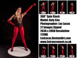 Katy Cee 360Stock SuperHero / Villain Pose by LexLucas