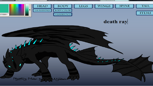 me as a nightfury by wolvesforever122