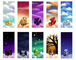 Kitties in the Sky by michelle192837