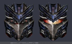 Soundwave Movie Head Design by MitGas