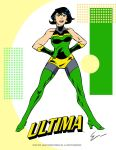 Ultima -pin up by LegacyHeroComics