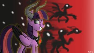 a quick nightmare night pic by theX-plotion