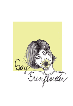 Say Sunflower by ThaisMelo