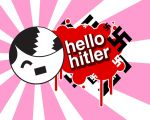 hello hitler pink by LAYZJAY