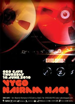 Flyer for Obo Cafe 01 by vygo