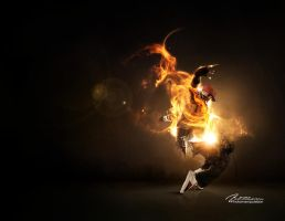 Scorpion Fire by Artillusion