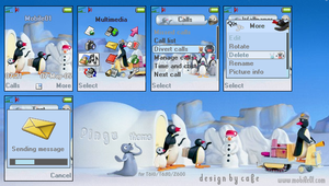 Pingu theme for T610 by cafe-cartel