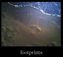 personal Footprints by TheRed