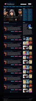 Layout for filmykino.pl by CargoDesign