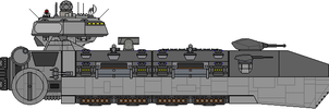 Type 3700 Heavy Cruiser by Kelso323