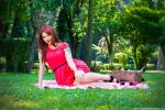 Little red riding hood picnic by makaveli81