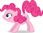 Mlp Fim pinkie pie (how do you think?) vector by luckreza8