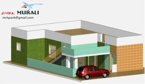 Residential building by sparkmurali