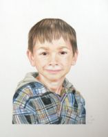 David, Age 8 by catnmaus