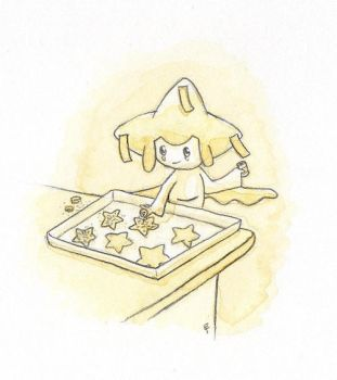 Pokecember Day 16: Jirachi by Between-the-Stars
