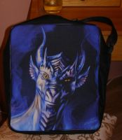 Blue Dragon Satchel by Eva-the-DragonLady