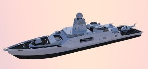 OPV Multi Mission Light Frigate. by kaasjager