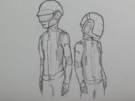 daft punk wip by Creeate97