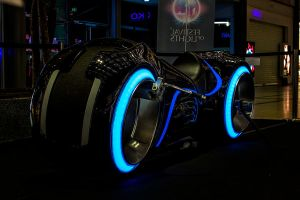 12-10 Tron Bike by evionn